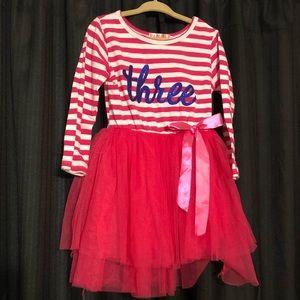 "Other - ""Three"" Birthday Toddler Dress"